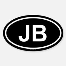 JB Oval Decal