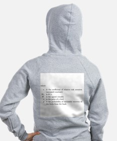 Risk aversion Zip Hoodie