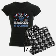 Trump Basket Of Deplorables Pajamas
