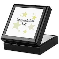Congratulations Dad! Keepsake Box