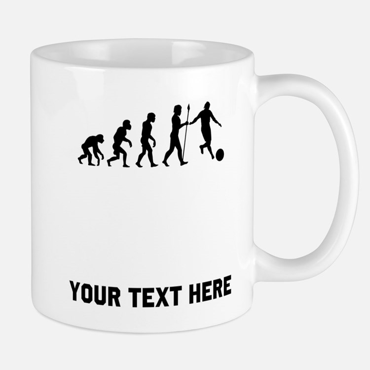 Kickball Evolution Mugs