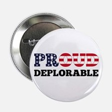 "Proud Deplorable 2.25"" Button"