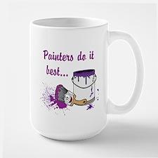 Painters Do It Best Large Mug