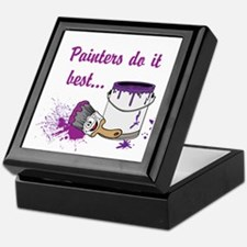 Painters Do It Best Keepsake Box
