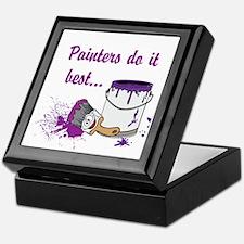 Painters Do It Best Keepsake Box
