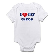 I love my tacos Infant Bodysuit