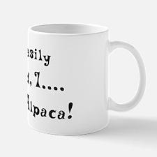 Distracted by Alpaca Mug
