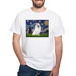 Starry / Samoyed White T-Shirt