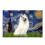 Starry / Samoyed Postcards (Package of 8)