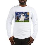 Starry / Samoyed Long Sleeve T-Shirt
