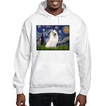 Starry / Samoyed Hooded Sweatshirt