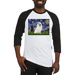 Starry / Samoyed Baseball Jersey
