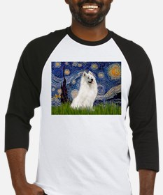 Starry / Samoyed Baseball Jersey