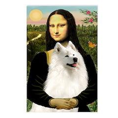 Mona / Samoyed Postcards (Package of 8)