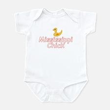 Born mississippi Infant Bodysuit