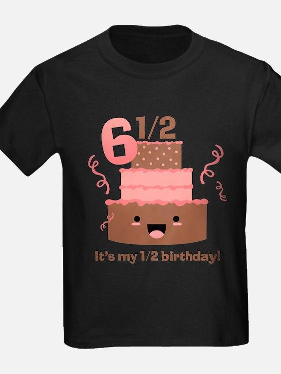Kawaii Cake 6 1/2 Birthday T