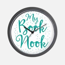 My book nook Wall Clock
