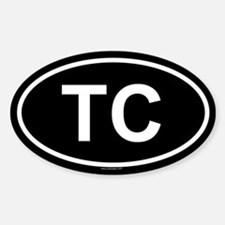 TC Oval Decal
