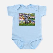 Lilies / Scot Deerhound Infant Bodysuit