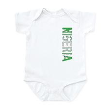 Nigeria Stamp Infant Bodysuit