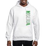 Nigeria Stamp Hooded Sweatshirt