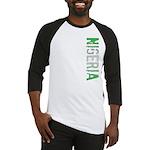 Nigeria Stamp Baseball Jersey
