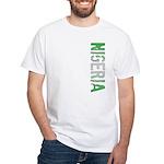 Nigeria Stamp White T-Shirt