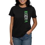 Nigeria Stamp Women's Dark T-Shirt