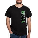 Nigeria Stamp Dark T-Shirt