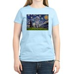 Starry /Scot Deerhound Women's Light T-Shirt