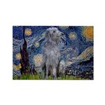 Starry /Scot Deerhound Rectangle Magnet (10 pack)