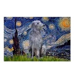 Starry /Scot Deerhound Postcards (Package of 8)
