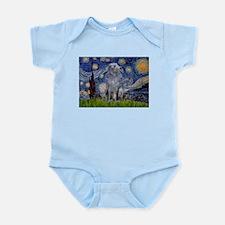 Starry /Scot Deerhound Infant Bodysuit