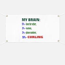 My Brain, 90% Curling . Banner
