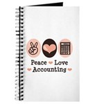 Peace Love Accounting Accountant Journal