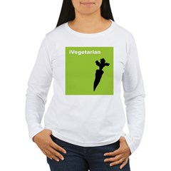 iVegetarian Women's Long Sleeve T-Shirt