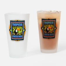 Costa Rica Drinking Glass
