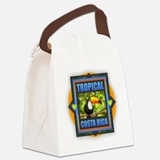 Costa Rica Canvas Lunch Bag
