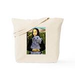 Mona /Scot Deerhound Tote Bag