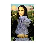 Mona /Scot Deerhound Sticker (Rectangle)