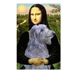 Mona /Scot Deerhound Postcards (Package of 8)