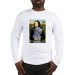 Mona /Scot Deerhound Long Sleeve T-Shirt