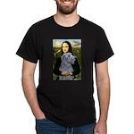 Mona /Scot Deerhound Dark T-Shirt