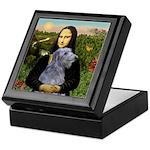Mona /Scot Deerhound Keepsake Box