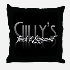 Gilly's Throw Pillow