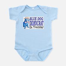 Blue Dog in Training Infant Creeper