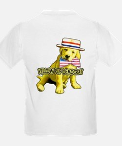 I'm a Yellow Pup Kids T-Shirt