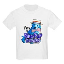 I'm a Blue Pup Kids T-Shirt