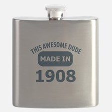 This Awesome Dude Made In 1908 Flask
