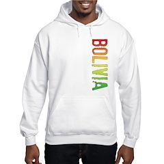 Bolivia Stamp Hoodie